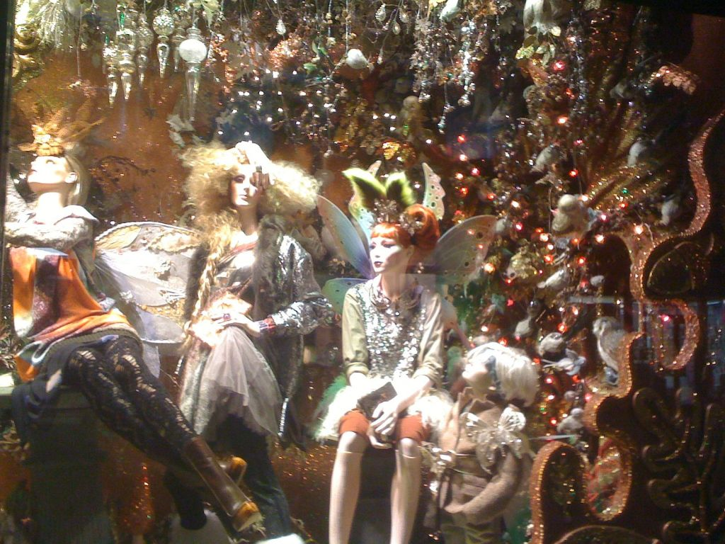 Window display in Brown Thomas, Dublin (2010)