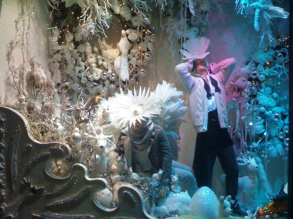 Window display in Brown Thomas (2010)