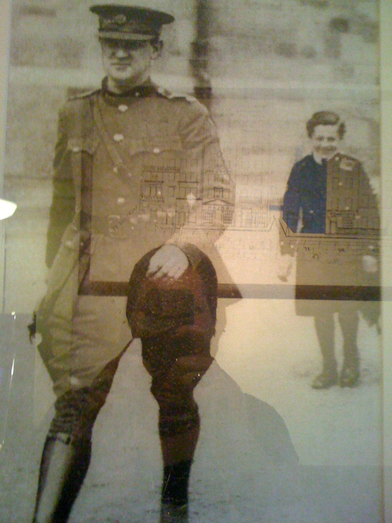 Irish General Michael Collins at Portobello barracks, Dublin in August 1922