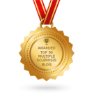 Top 50 Feedspot badge