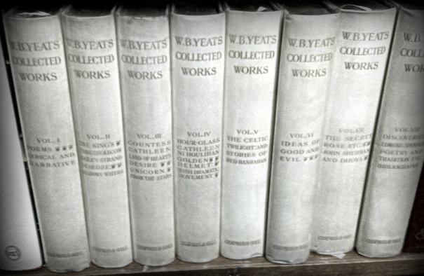 The Collected Works in Verse and Prose of William Butler Yeats, first collected edition of Yeats's works 1908. Volume I to VIII (Price: €3500) — at Ulysses Rare Books.