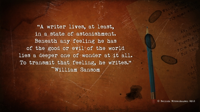 Quote about writers