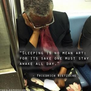 Sleeping by Nietzsche
