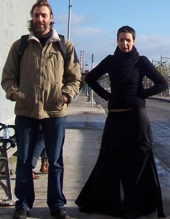 Balder and Willeke at Windmill Lane 2005