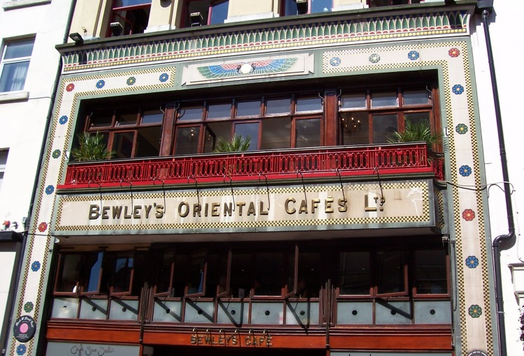 Bewleys in Grafton Street, Dublin