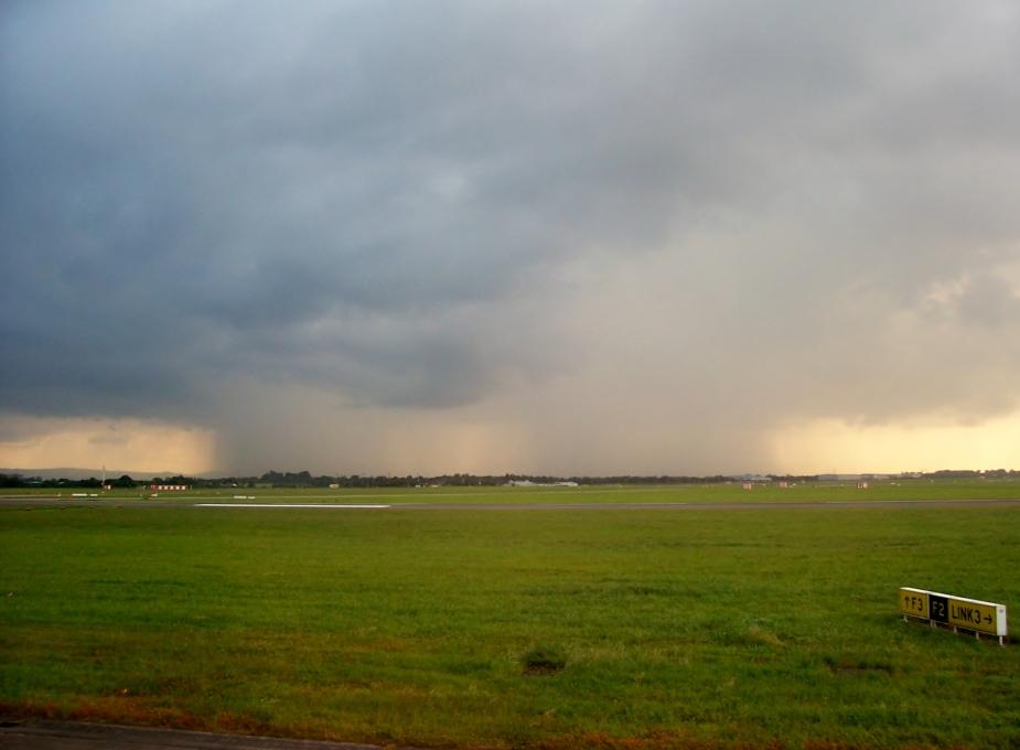Rain bands over Wicklow