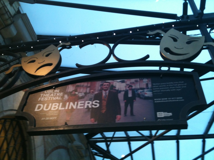 Dubliners by James Joyce in the Gaiety Theatre