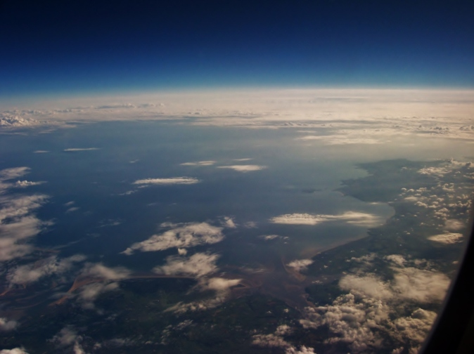 Wales from above