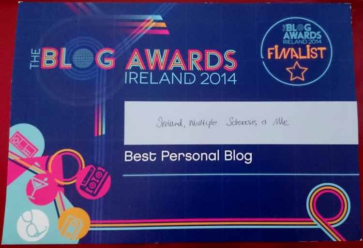 Image certificate Blog Awards