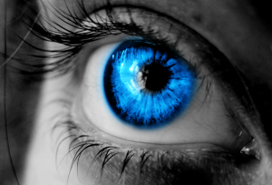 Image of blue eye