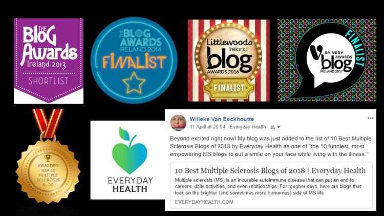Blog awards badges 2018