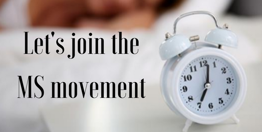 Join the MS movement